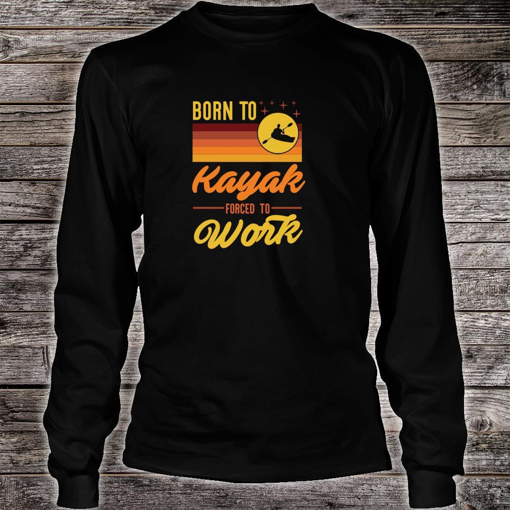 Born To Row Forced To Work WOMENS T-SHIRT mothers day rowing rower kayak gift